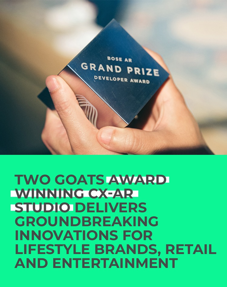 Two Goats I Immersive Creators Studio | Lifestyle Brands and